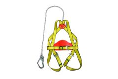 HARNESS WITH BIG LANYARD