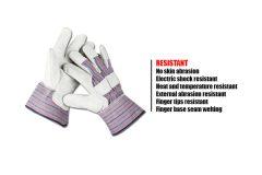 leather short gloves 2